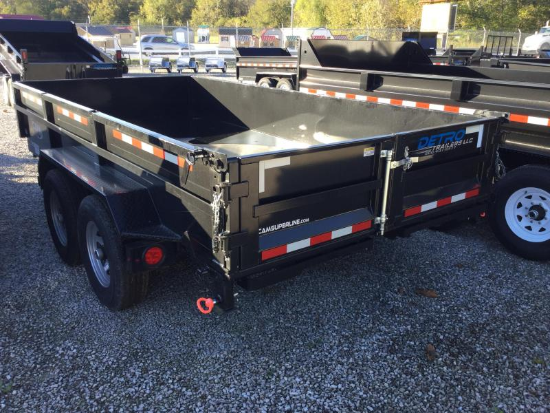 2017 Cam Superline CAM Low Profile HD Dump Dump Trailer