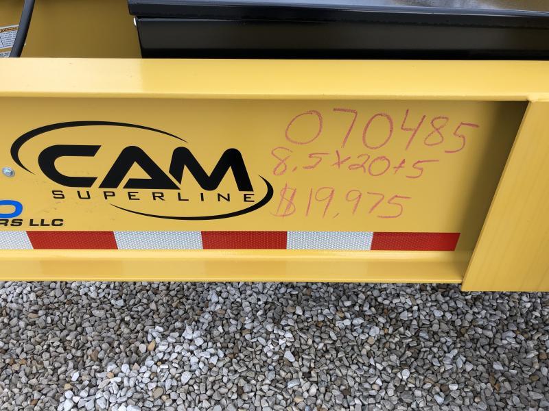 2019 Cam Superline 102X205 Equipment Trailer