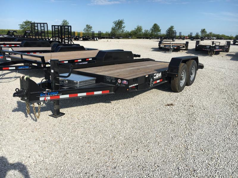 2019 Cam Superline 7X18 Car / Racing Trailer