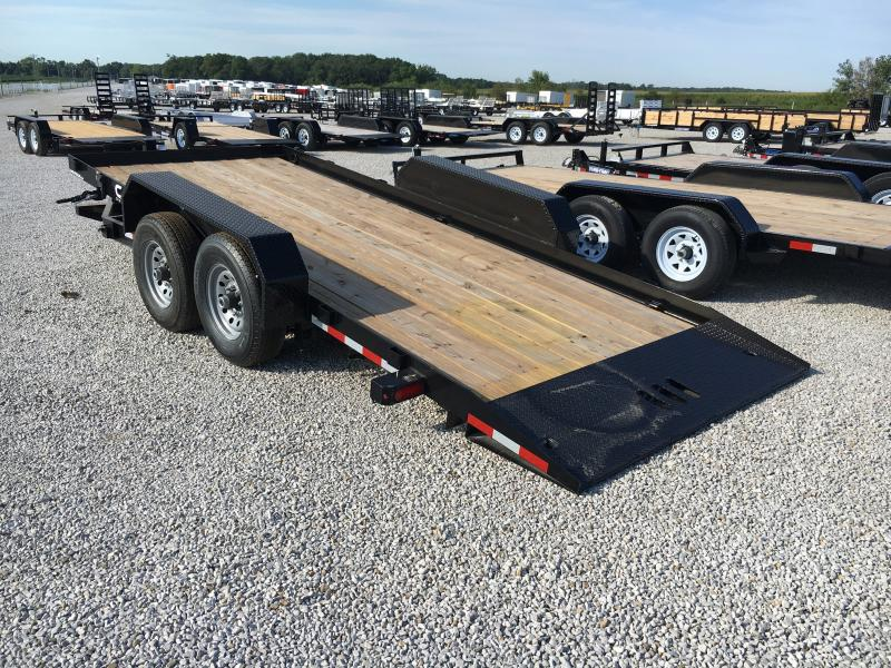 2019 Cam Superline 7X18 Full Tilt Trailer