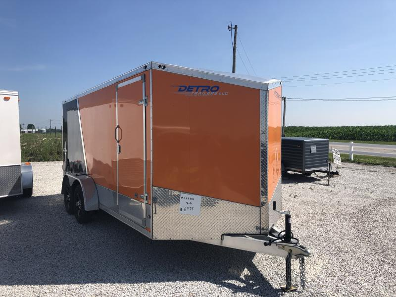 Used 2015 Stealth Trailers 7X16 Aluminum Enclosed Cargo Trailer