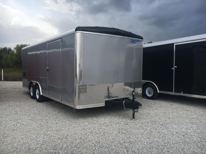 2019 Cargo Express Pro Auto Roundtop 8.5X20 10k Car / Racing Trailer