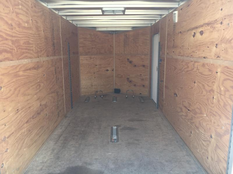 Used 2014 Legend Manufacturing 7X16 Enclosed Cargo Trailer