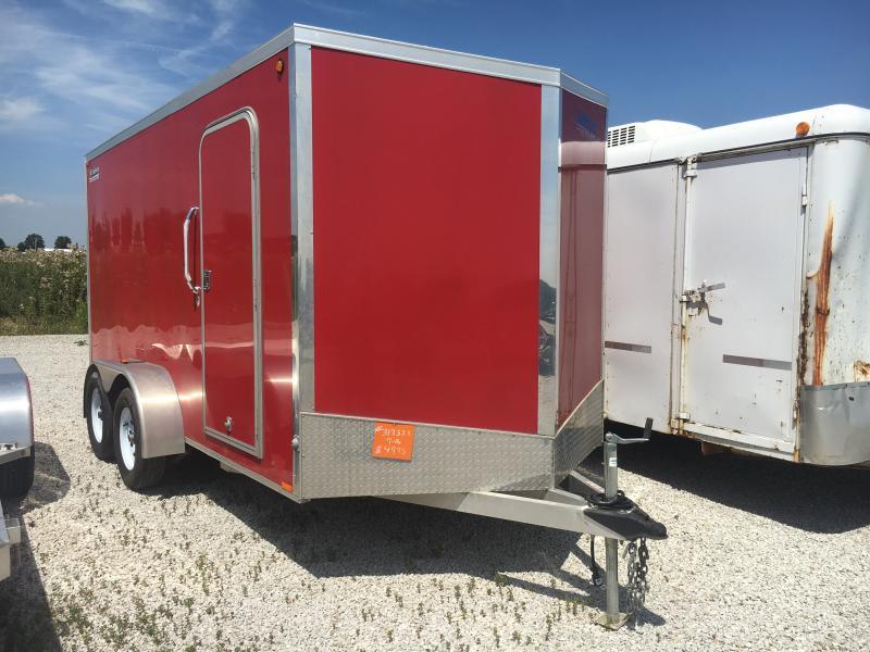 Used 2014 Legend Manufacturing 7X16 Enclosed Cargo Trailer in Ashburn, VA