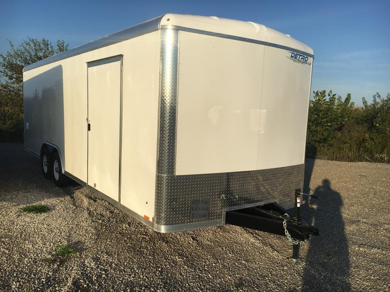 2019 Cargo Express Pro Auto Roundtop 10k Car / Racing Trailer