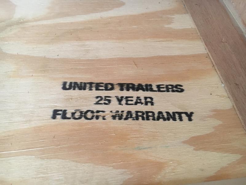 2019 United Trailers 8.5X16 Enclosed Cargo Trailer
