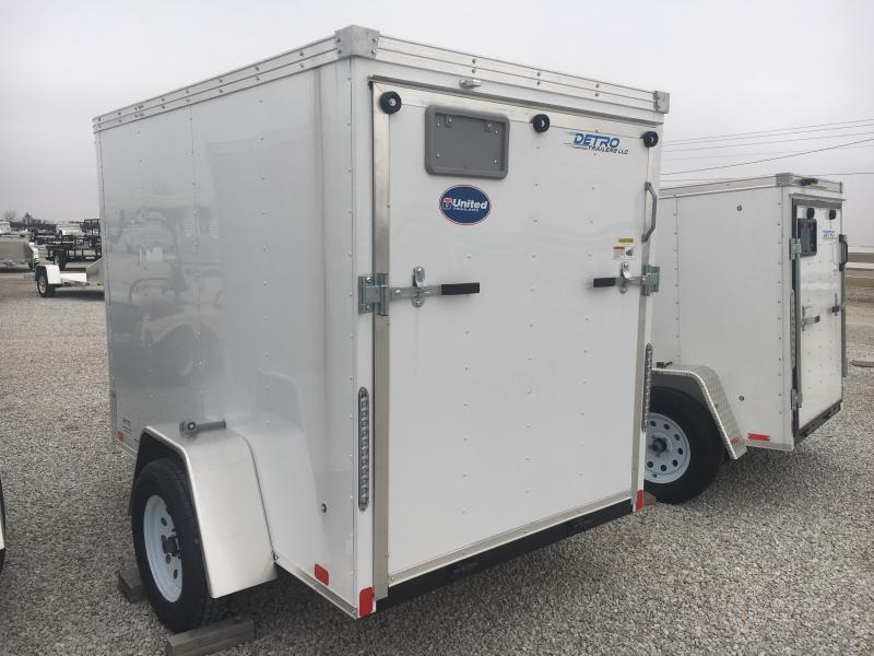 2019 United Trailers 5X8 Enclosed Cargo Trailer