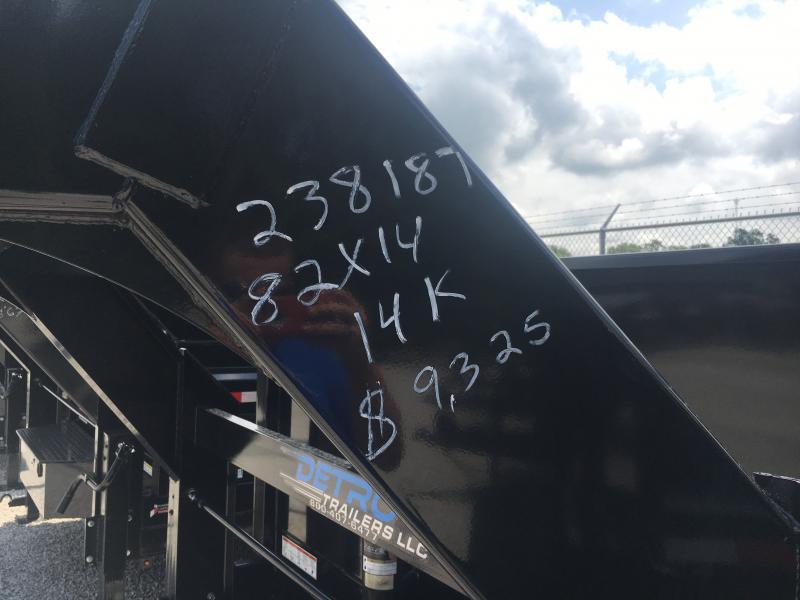 2018 Sure-Trac 82 IN X 14 LP 14K Goose Telescopic Dump