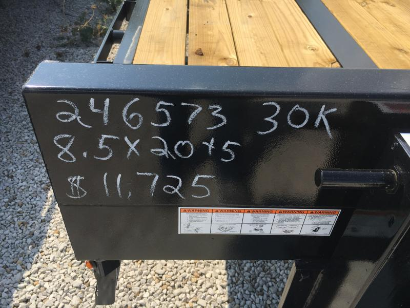 2019 Sure-Trac 8.5x20+5 LowPro Deckover Tandem BP 25.9K