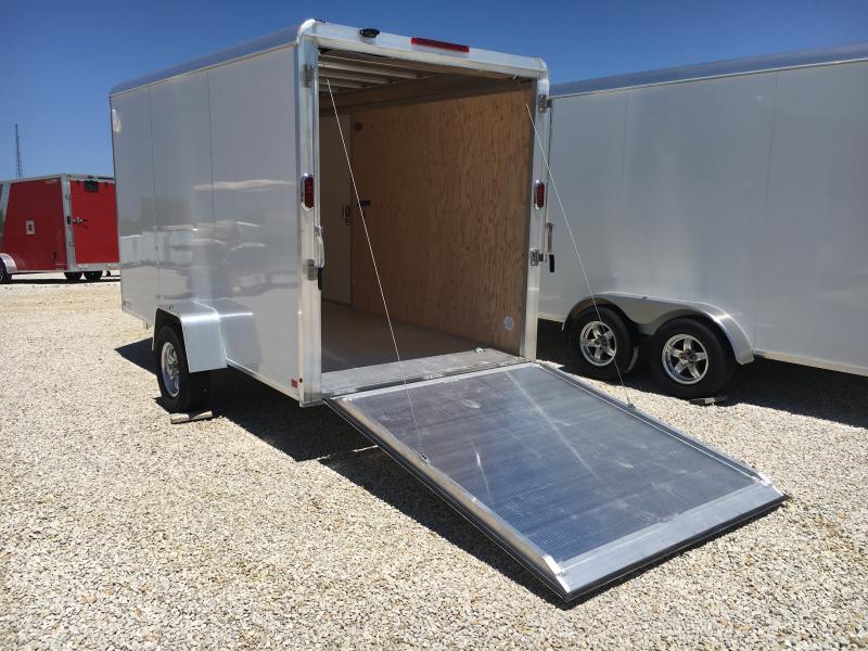 2020 Aluma 6X12 Enclosed Cargo Trailer