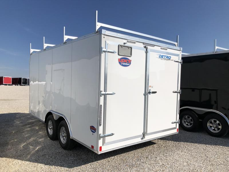 2019 United Trailers 8.5X16 Enclosed Cargo Trailer
