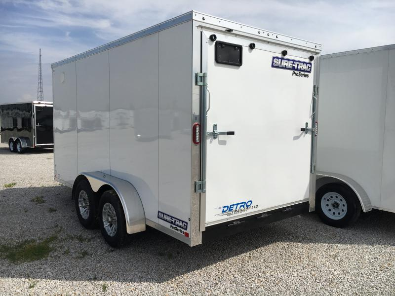 2019 Sure-Trac 7 x 14 Pro Series Wedge Cargo TA 10K