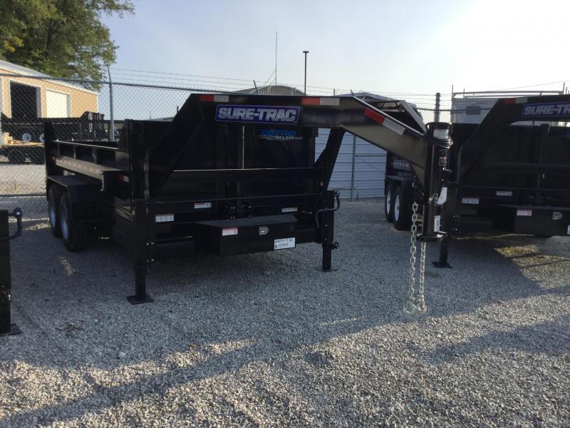 2018 Sure-Trac 82 IN X 14 LP 16K Goose Telescopic Dump