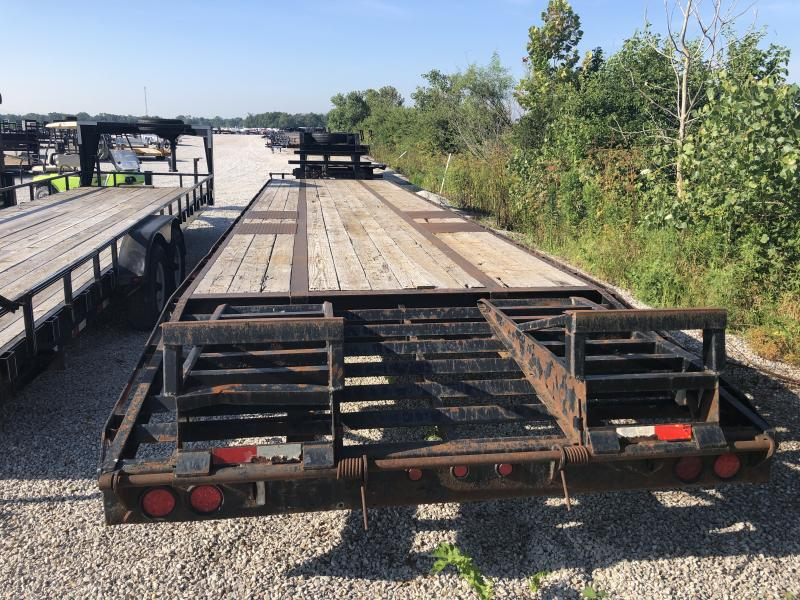 Used 2011 Legend Trailers 35+5 GOOSENECK Flatbed Trailer