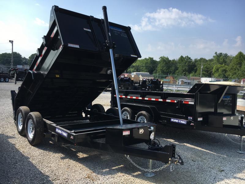 2019 Sure-Trac 82 IN X 12 LProfile 14K Telescopic Dump