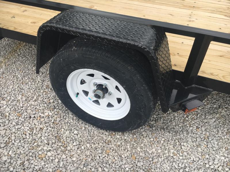 2019 Sure-Trac 7 x 12 Angle Iron Utility 3k Idler