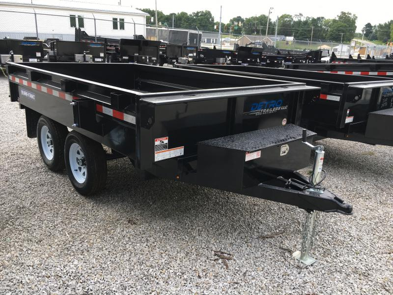 2019 Sure-Trac 72 IN X 10 Deckover Dump 7K Single Ram