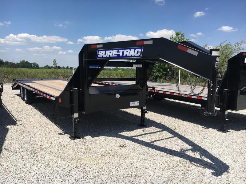 2018 Sure-Trac 8.5 X 20+5 Low Pro Deckover Tandem GN15K