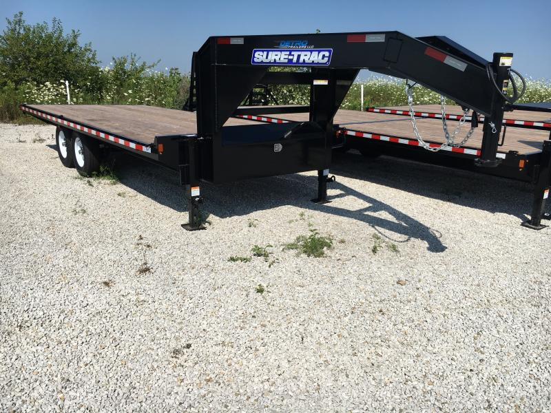 2019 Sure-Trac 8.5 X 20 Ft Standard Duty Flatbed GN Dec