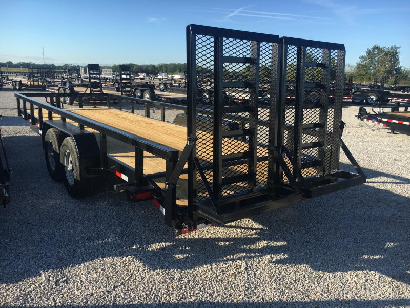2020 Sure-Trac 7 x 22 14K Heavy Duty Equipment Trailer