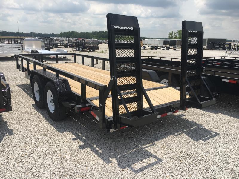 2019 Sure-Trac 7 x 18 14K Heavy Duty Equipment Trailer