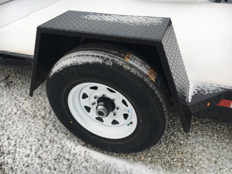 2019 Sure-Trac 78 IN X 12 + 4 Tilt Bed Equipment 7.8K