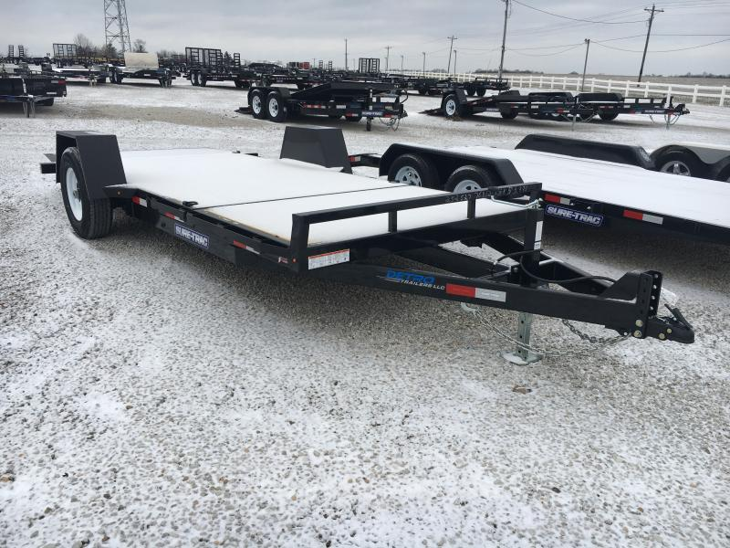 2019 Sure-Trac 78 IN X 12 + 4 Tilt Bed Equipment 7.8K