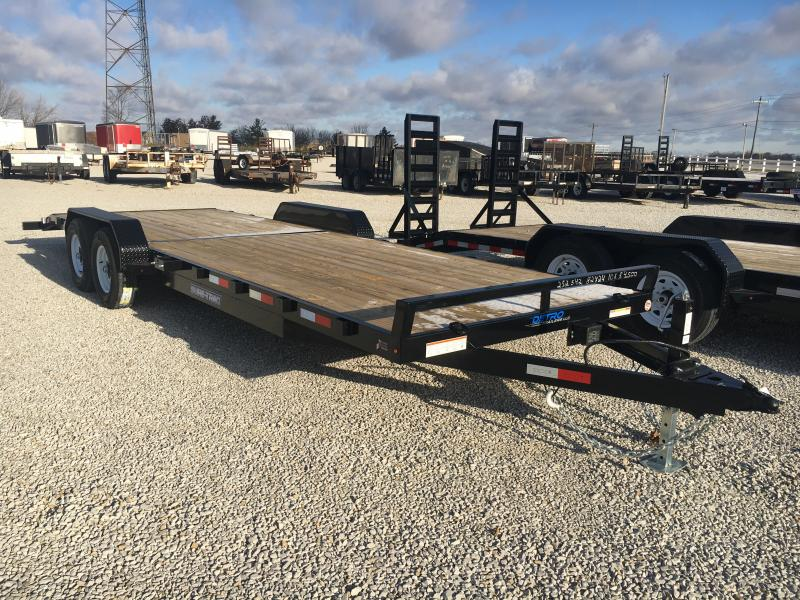 2019 Sure-Trac 7 X 24 Wood Deck Car Hauler 10K