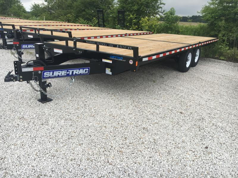 2019 Sure-Trac 8.5 X 22 Ft Standard Duty Flatbed Deckov