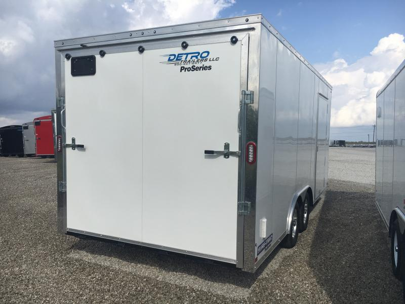 2019 Sure-Trac 8.5x18 Pro Series Wedge C. Hauler TA 7K