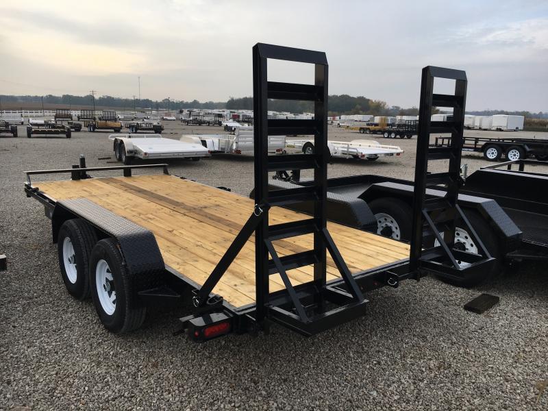 2019 Sure-Trac 7 x 16 Implement 10K Flat Deck