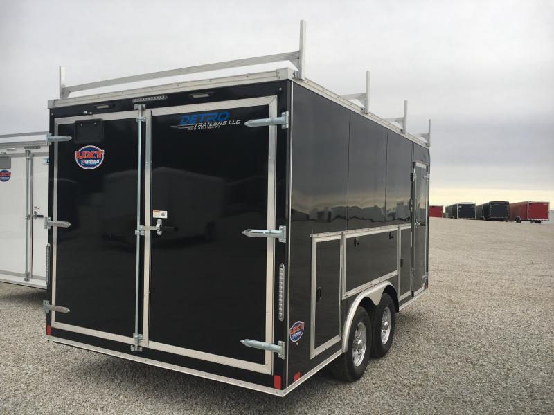 2019 United Trailers 8.5X16 Car / Racing Trailer