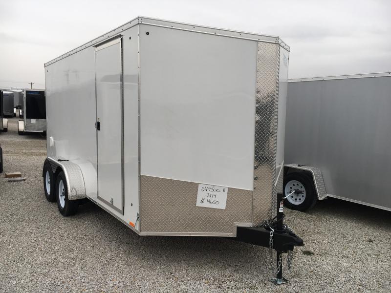 2019 Cargo Express 7X14 Cargo / Enclosed Trailer