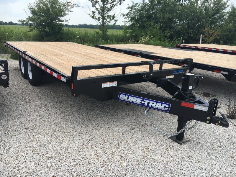 2019 Sure-Trac 8.5 X 20 Ft Standard Duty Flatbed Deckov