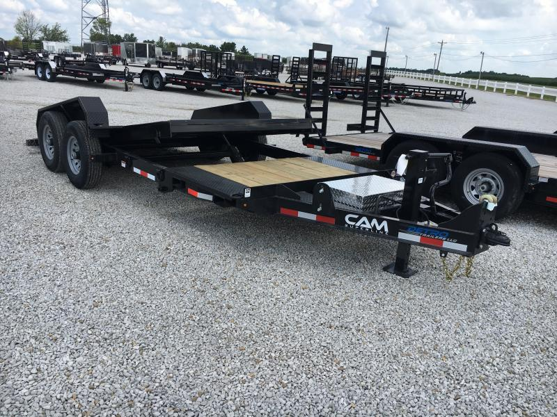 2019 Cam Superline 7X19 Equipment Trailer