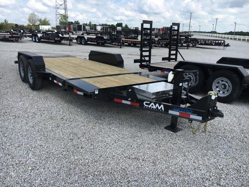 2019 Cam Superline 7X19 Equipment Trailer