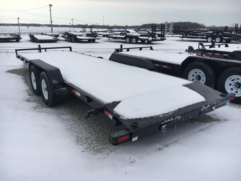 2019 Sure-Trac 7 X 22 Wood Deck Car Hauler 10k