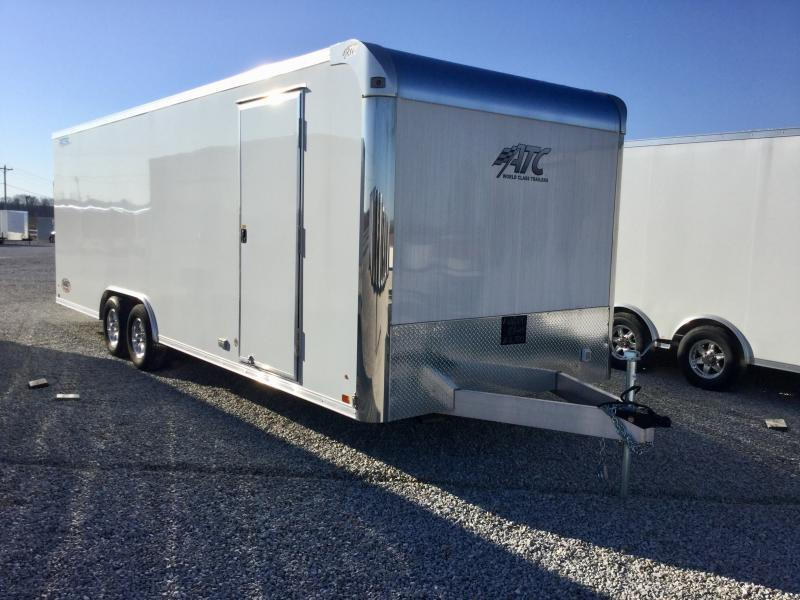 2017 ATC Raven 8.5 x 24 Enclosed Car Hauler