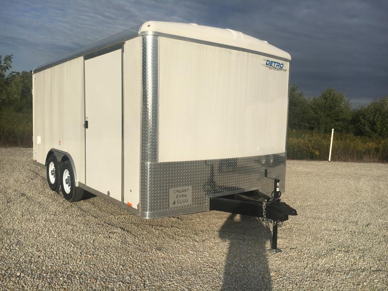 2018 Cargo Express 8.5X16 Enclosed Cargo Trailer