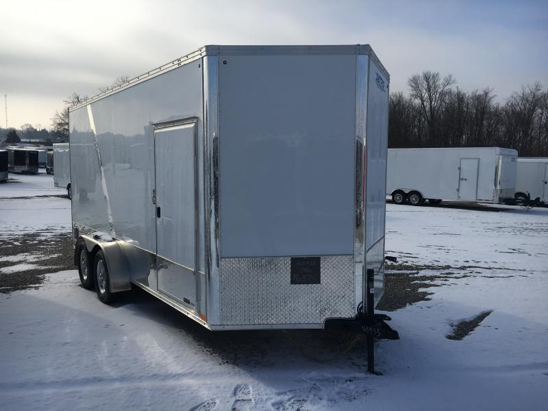 2019 United Trailers 7X16 Motorcycle Trailer