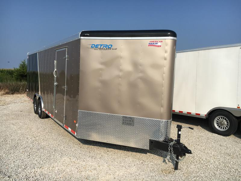 2018 American Hauler Industries 8.5X28 COMBO FALCON WEDGE Car / Racing Trailer