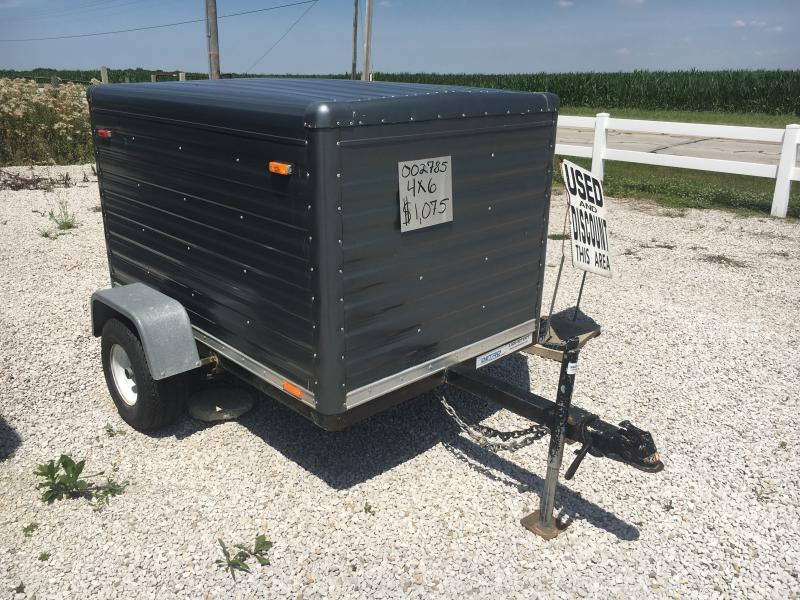 Used 1991 United Trailers 4X6 Enclosed Cargo Trailer