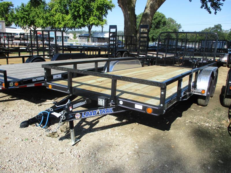 2019 Load Trail 83x16 Tandem Axle Utility Trailer