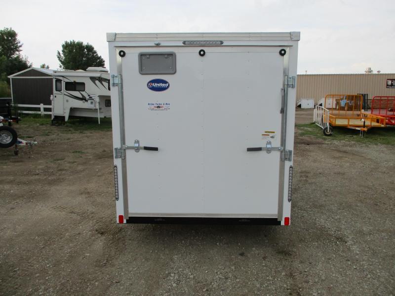 2020 United Trailers 6x12 Single Axle Enclosed Cargo Trailer