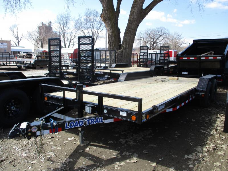 "2019 Load Trail 83""x20' Tandem Axle Carhauler Equipment Trailer"