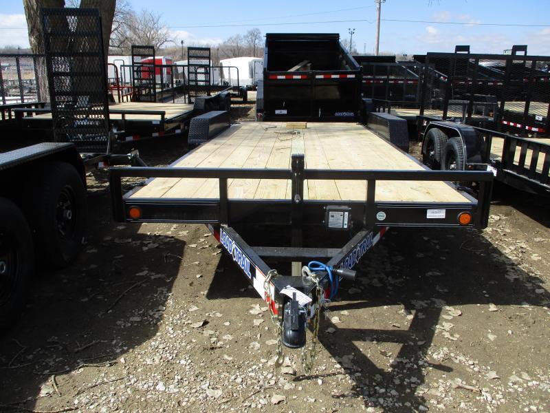 """2019 Load Trail 83""""x20' Tandem Axle Carhauler Equipment Trailer"""