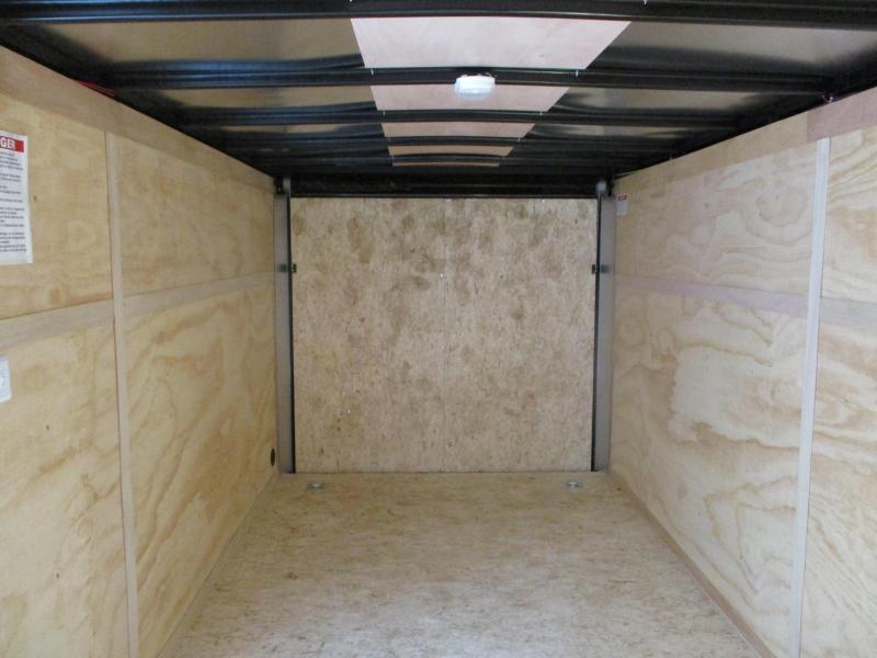 2020 United Trailers 7x16 Tandem Axle Enclosed Cargo Trailer
