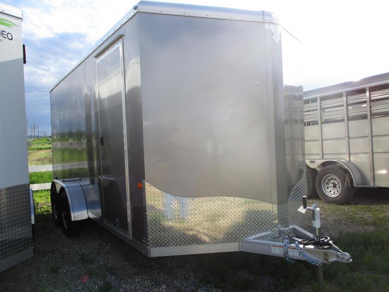 2019 NEO Trailers 7x16 Tandem Axle Aluminum Enclosed Cargo Trailer in Ashburn, VA