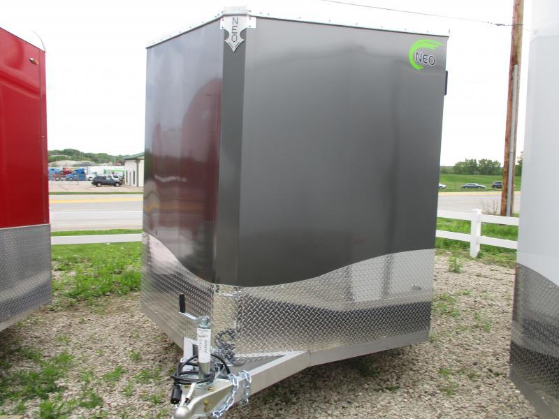 2019 NEO Trailers 7.5x16 Aluminum Tandem Axle Enclosed Cargo Trailer