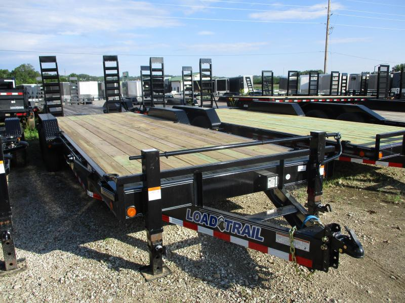 "2019 Load Trail 83""X24' Tandem Axle Carhauler Equipment Trailer"